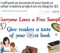 Book Excerpt Blog Post