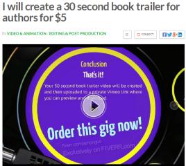 book trailer
