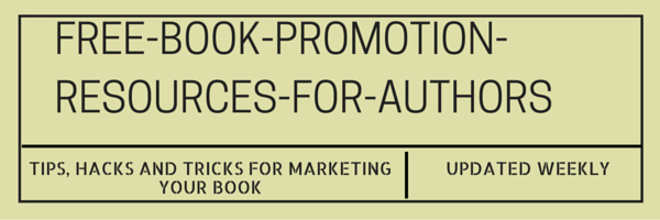 free-book-promotion-resources-for-authors