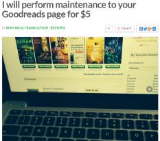 goodreads maintenance