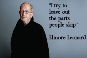 Elmore Leonard quote