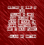 Alain de Botton on Writing a Book