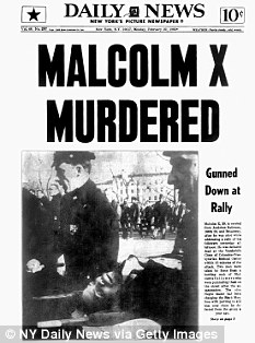 Malcolm X Murder Newspaper