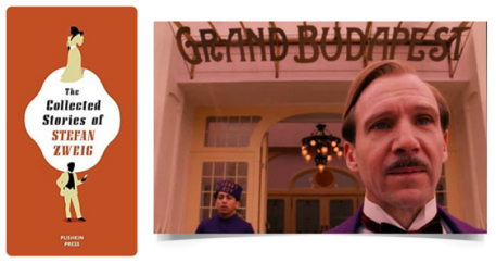 The Grand Budapest Hotel, Based on the Collected Stories of Stefan Zweig