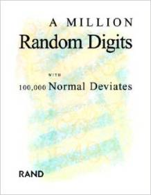 funny book review a million random digits