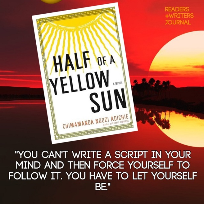 half of a yellow sun quote
