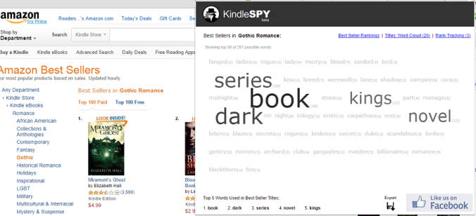 kindlespy for keywords
