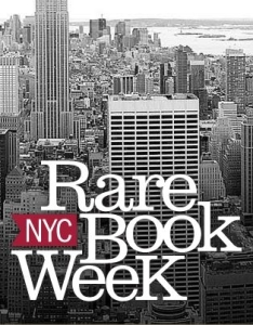 NYC Rare Book Week