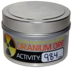 Uranium ore is NOT eligible for Amazon's Subscribe & Save program