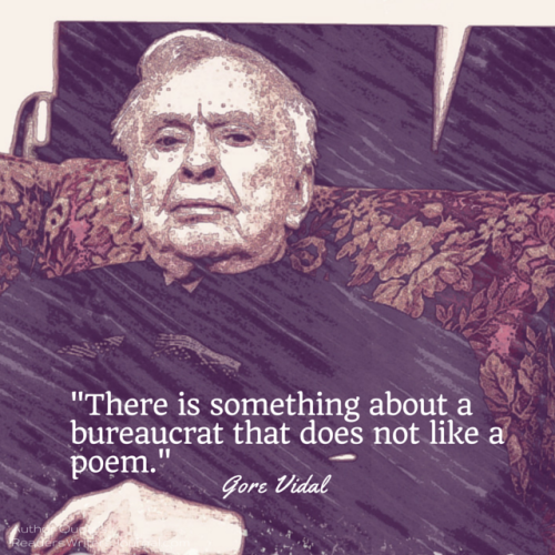 Gore Vidal Quote about poetry