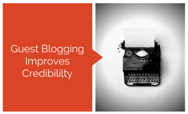 Guest Posting for Authors Increase Credibility