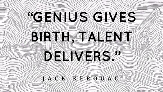 Kerouac Quote on Genius