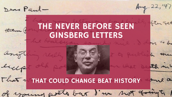 Newly Discovered Allen Ginsberg Letters
