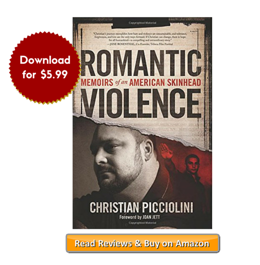 Romantic Violence Memoirs of an American Skinhead on Amazon