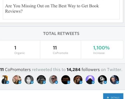 Social Media Book Marketing Screenshot