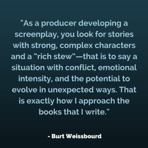 Burt Weissbourd on Writing