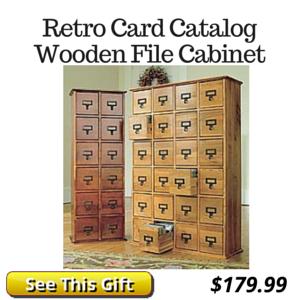 Retro Library Cabinet