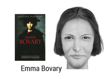 Emma Bovary from Flaubert's Madame Bovary
