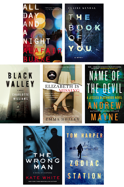 Harper Mystery and Thriller Sweepstakes Books