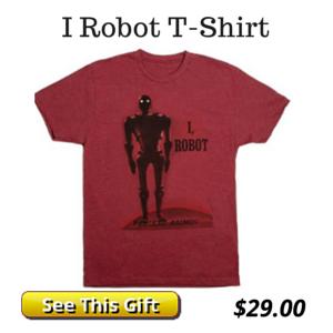 I Robot by Isaac Asimov T-Shirt