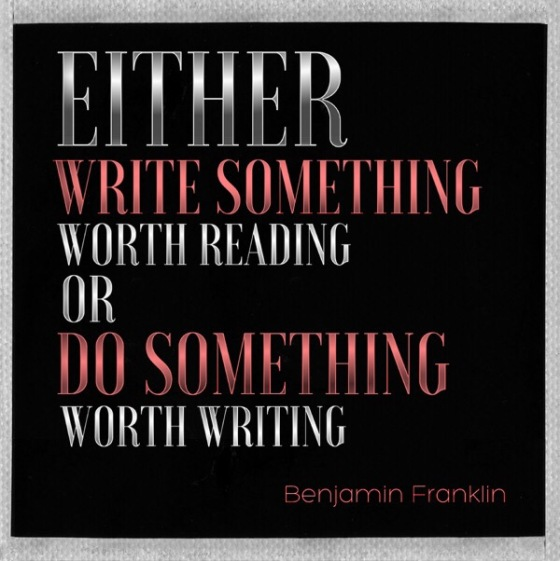 Benjamin Franklin Quote on Writing