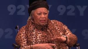 Toni Morrison in NY