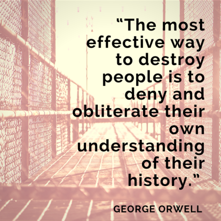 Orwell Quote on history