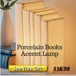 Book Shaped Light Gift