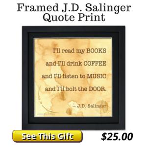 Quote Print Salinger