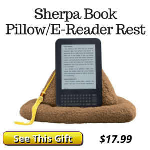 Book Pillow Gift for Readers