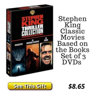 3 DVD Stephen King Set