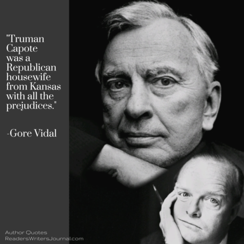 Gore Vidal Quote About Truman Capote