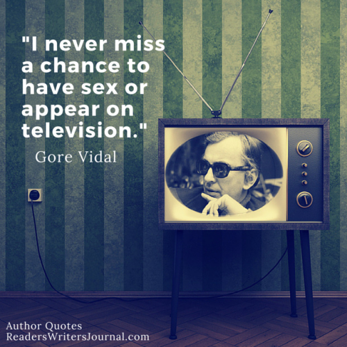 Gore Vidal Quote Sex