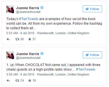 Joanne Harris Tweets