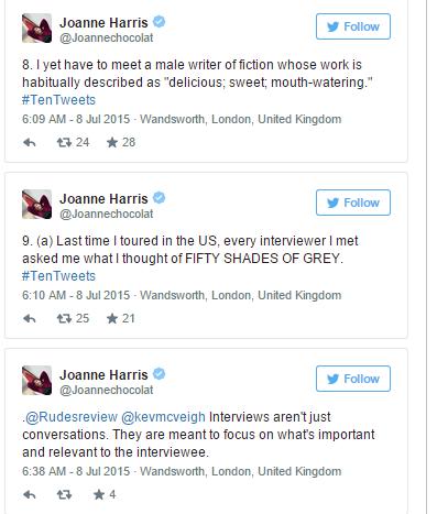 Joanne Harris tweets4