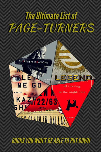 The Ultimate List of Page-Turners