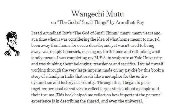 Wangechi Mutu The God of Small Things