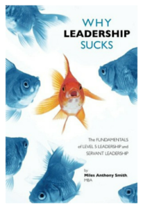 Why Leadership Sucks Book Cover Design