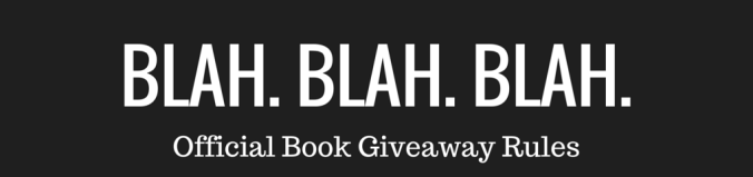 Book Giveaway Rules