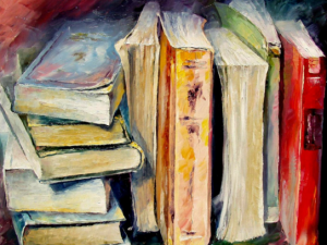 book painting