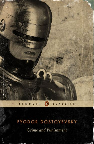 Crime and Punishment Robocop Book Cover Wintersixfour