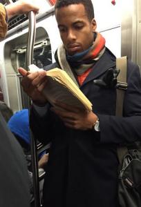 Hot Dudes Reading Instagram account