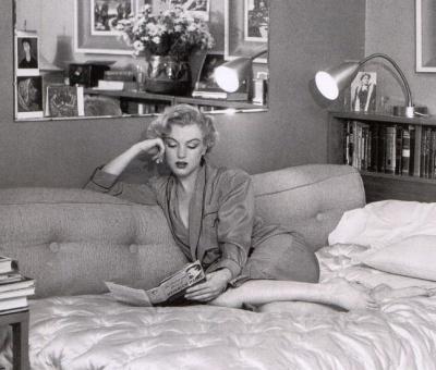 marilyn reading heine