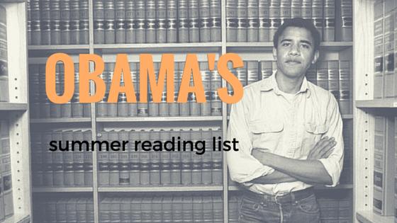 OBAMA'S SUMMER READING (1)