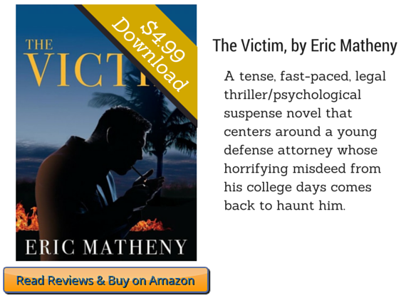 The Victim by Eric Matheny on Amazon