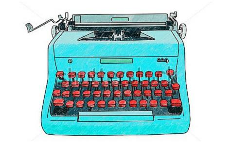 writing tools typewriter