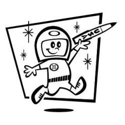 Sci-Fi Astronaut