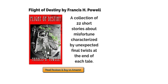 Flight of Destiny by Francis Powell