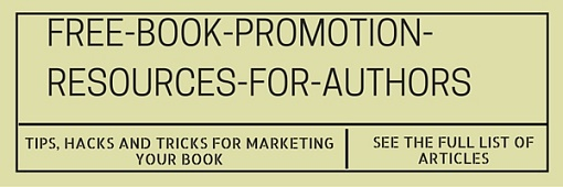 This article is part of a series on book marketing. Click here to see the entire archive.