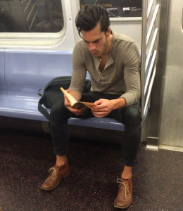Hot Dudes Reading Instagram Literary